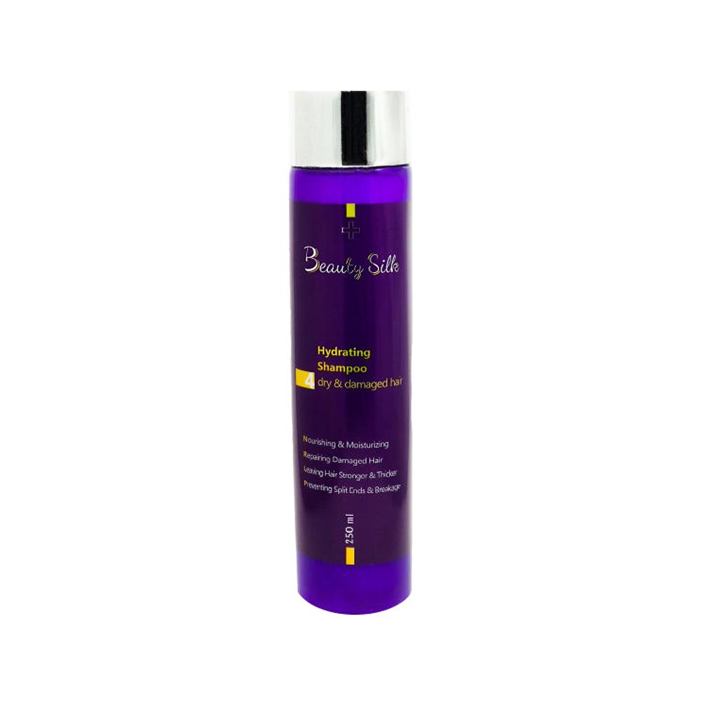 شامپو آبرسان برای موهای خشک و آسیب دیده بیوتی سیلک BEAUTY SILK