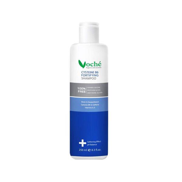 شامپو تقویت کننده حاوی سیستئین و ویتامین ب6 موی خشک وشه VOCHE