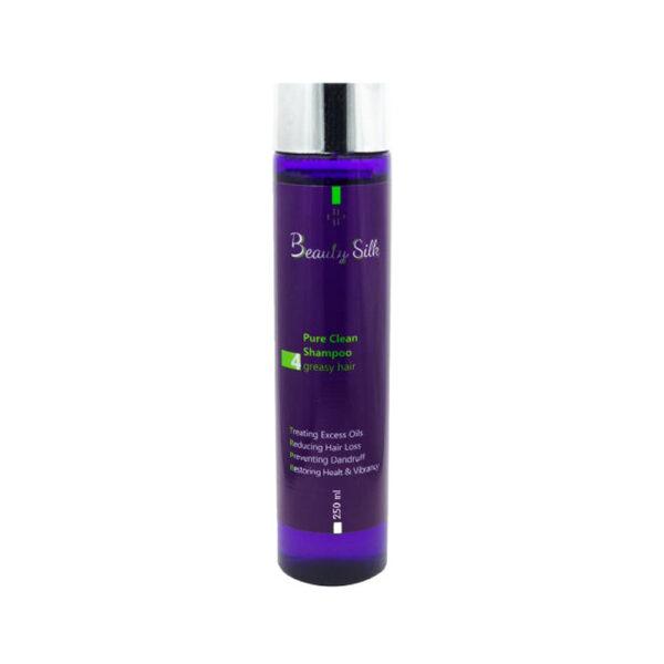 شامپو تنظیم کننده چربی برای موی چرب بیوتی سیلک BEAUTY SILK