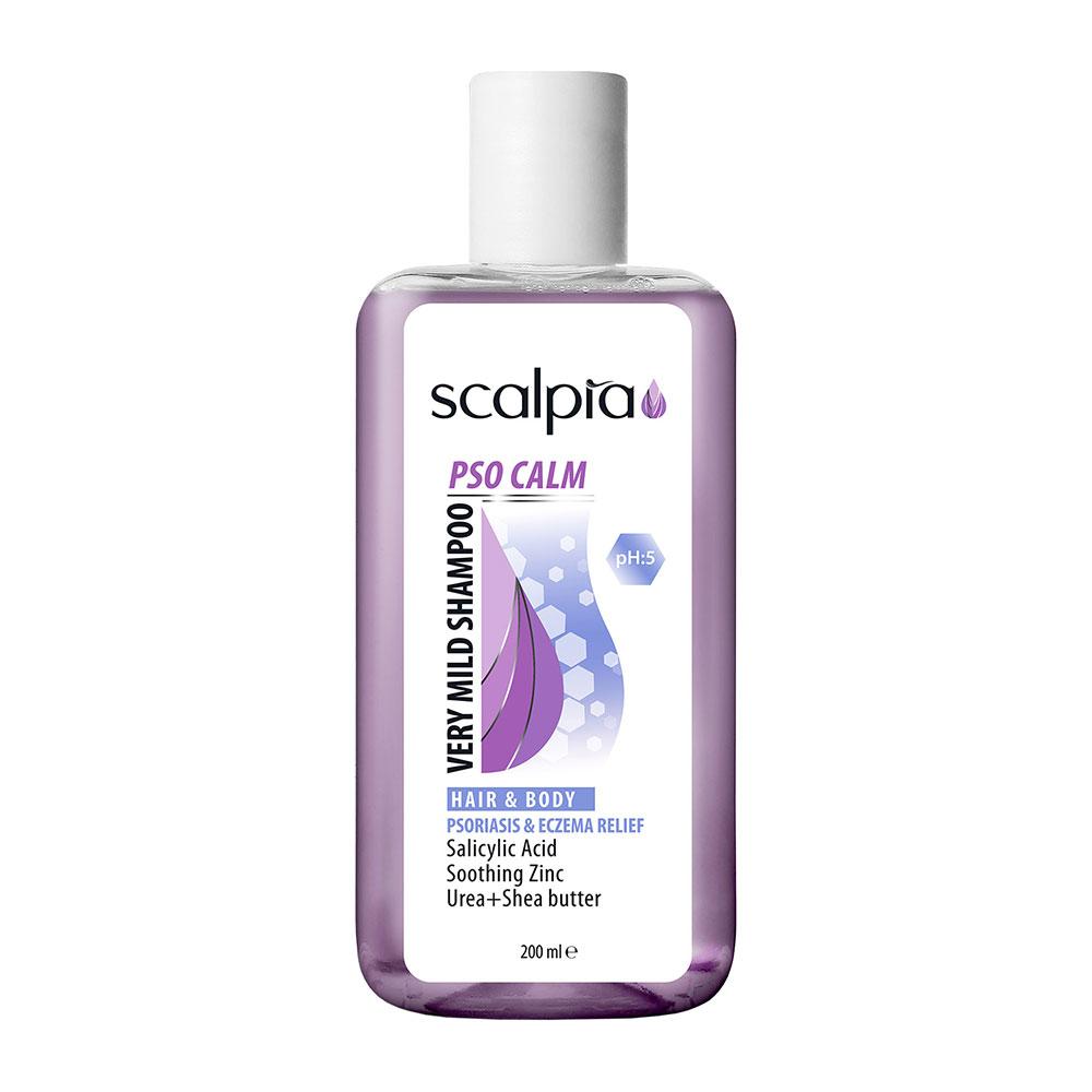 شامپو سروبدن ملایم پوست های حساس اسکالپیا SCALPIA