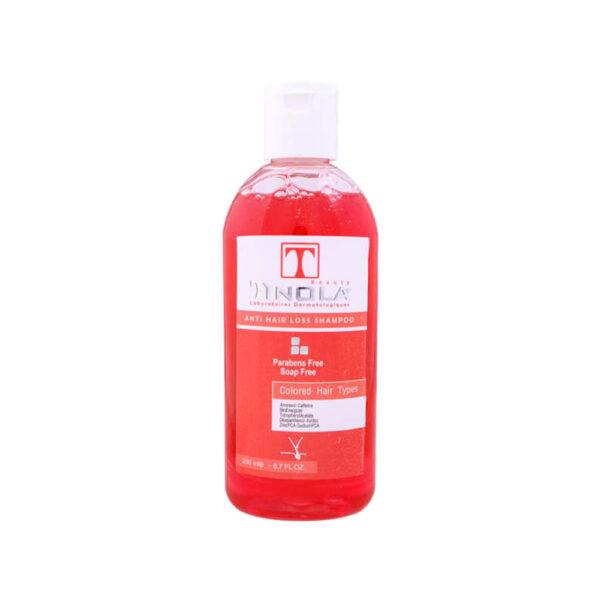 شامپو ضد ریزش موهای رنگ شده تینولا Tinola