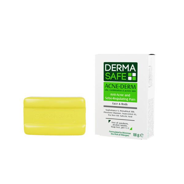 پن پوست های چرب مختلط و دارای آکنه درماسیف DERMA SAFE