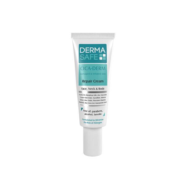 کرم بازسازی کننده پوست سیکادرم درماسیف DERMA SAFE