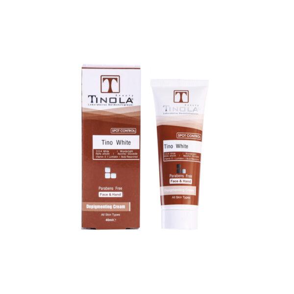 کرم روشن کننده و ضد لک تینولا بیوتی Tinola