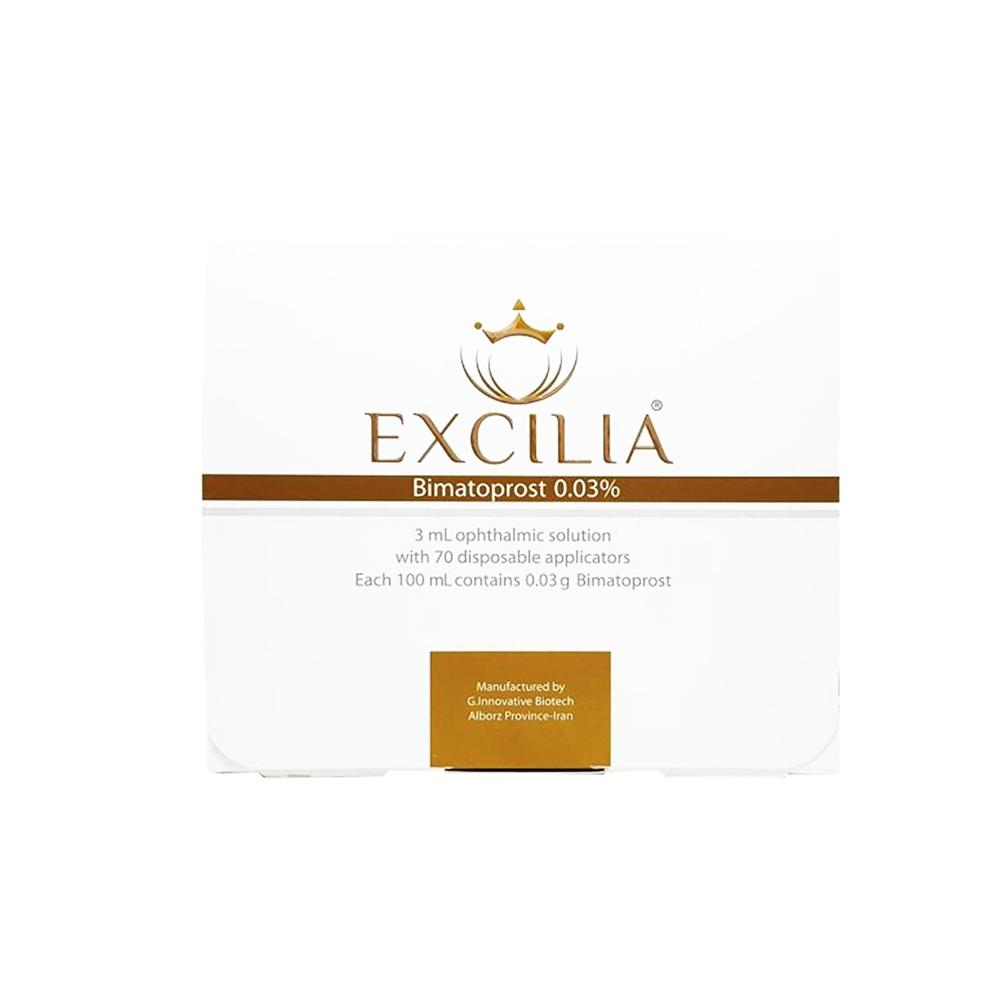 محلول تقویت کننده مژه و ابرو اکسیلیا Excilia