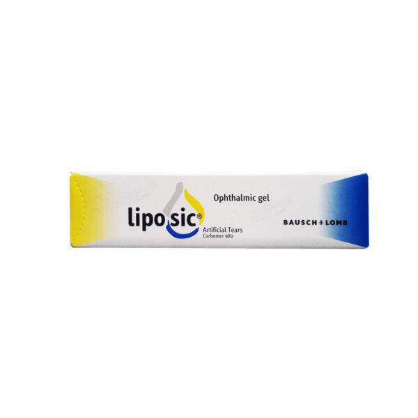 لیپوزیک ژل چشمی 10گرم LIPOSIC