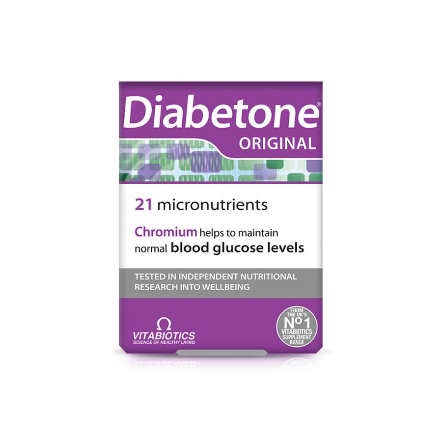 قرص دیابتون ویتابیوتیکس Vitabiotics DIABETONE