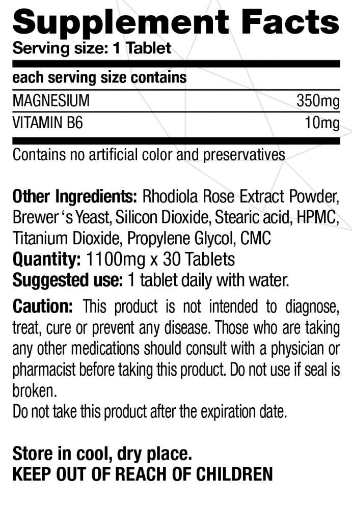 منیزیم 350 و ویتامین ب 6 Magnesium 350 + VitaminB6