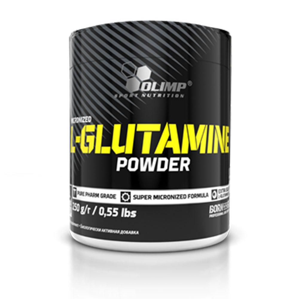 پودر ال-گلوتامین 250 گرم الیمپ OLIMP