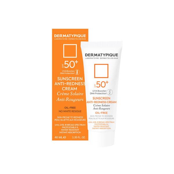کرم ضد آفتاب و ضد قرمزی +SPF50 درماتیپیک DERMATYPIQUE