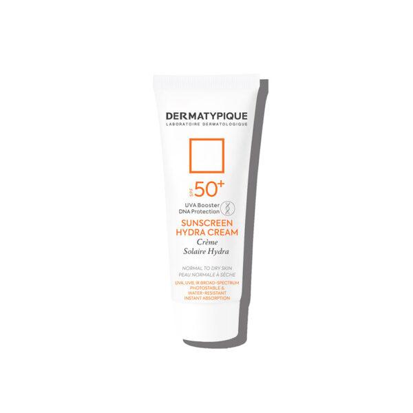 کرم ضد آفتاب کرم هیدرا پوست خشک +SPF50 درماتیپیک DERMATYPIQUE