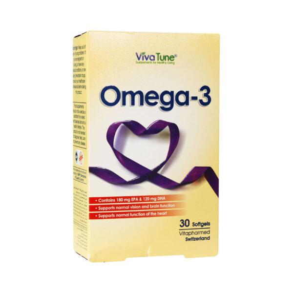 سافت ژل امگا 3 ویواتیون Viva Tune Omega 3