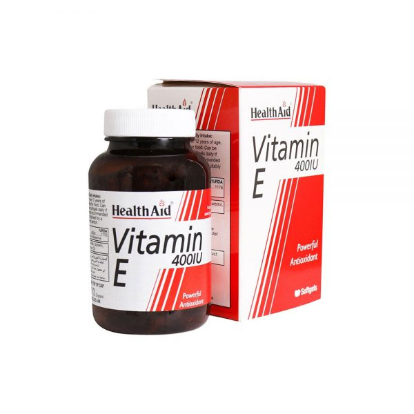 کپسول ویتامین ای هلث اید 400 واحد Health Aid