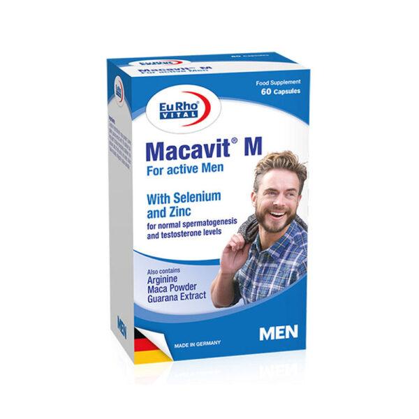 کپسول ماکاویت ام یوروویتال EuRhoVital Macavit M
