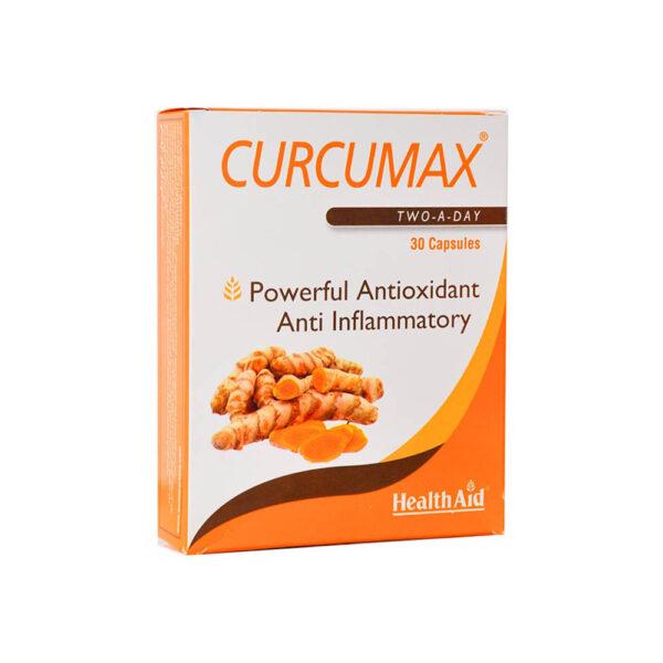 کپسول کورکومکس Curcumax هلث اید 30 عدد Health Aid