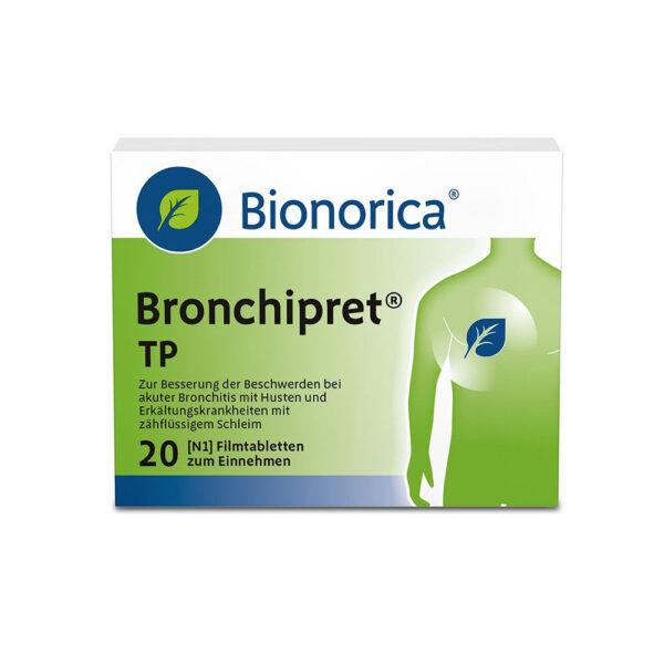 قرص برونشی پرت بیونوریکا Bionorica Bronchipret® N
