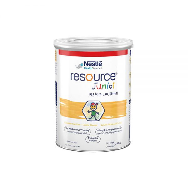 مکمل غذایی ریسورس جونیور نستله 400 گرم Nestle Resource Junior