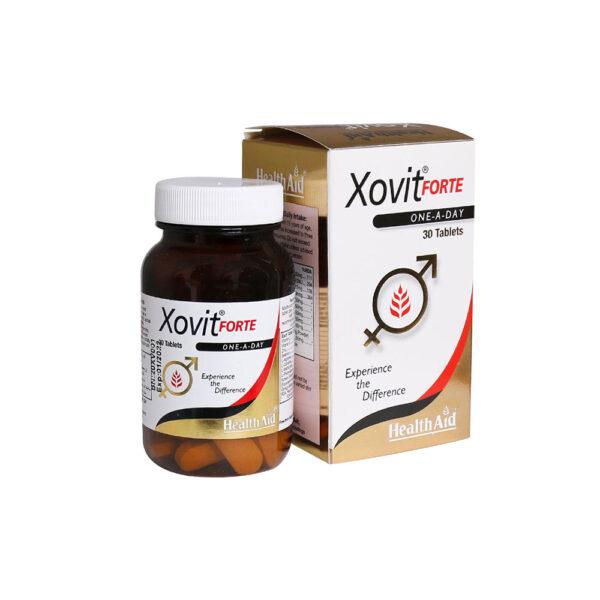 قرص ایکسوویت فورت هلث اید 30 عدد HEALTH AID Xovit