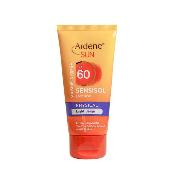 کرم ضد آفتاب رنگی فیزیکال SPF 60 آردن ARDENE